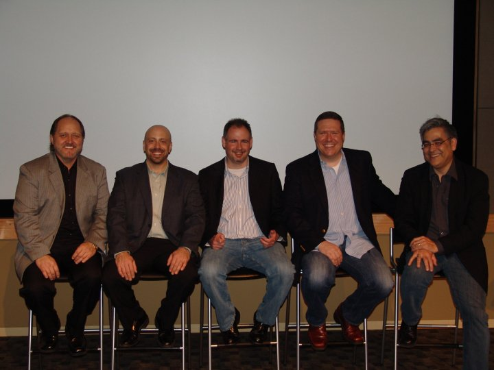 From left to right: Bille Baty, Darren Williger, Udi Schlessinger (me), Mike Whitmore and Eric Weaver