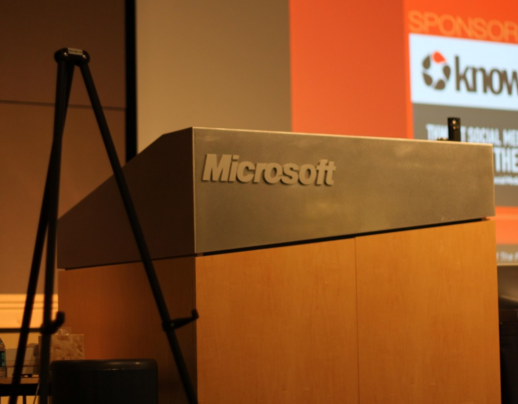 Social Media 201 at Microsoft Headquarters